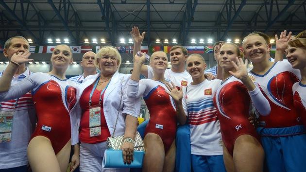El equipo ruso establece un récord en la Universiada en Kazán