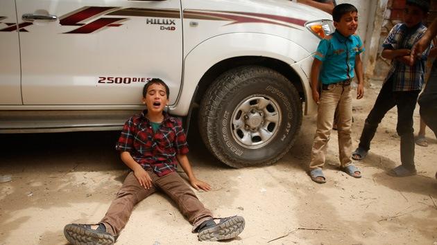 """Niño de Gaza que perdió a su padre: """"Son asesinos. Creen que nuestra vida no vale nada"""""""