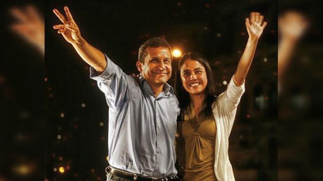 Ollanta Humala canta victoria arropado por el pueblo