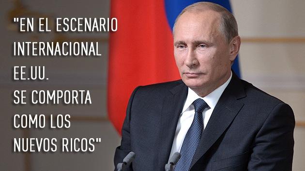 Las mejores citas de Putin en el Club Internacional de Debates Valdai