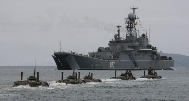 La Armada rusa aumentará notablemente la cantidad de buques de asalto anfibios