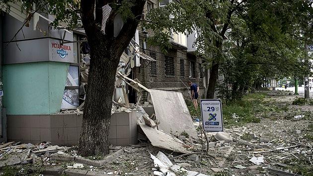 Más de 20 civiles muertos tras un tiroteo en Lugansk