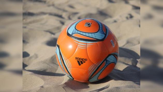 Rusia alcanza las semifinales del Mundial de fútbol playa