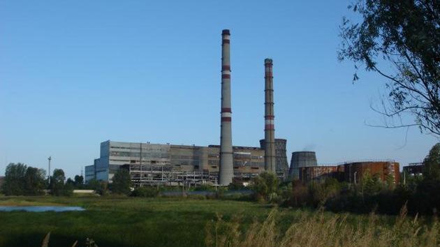 Fuerte explosión en una central termoeléctrica rusa