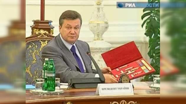 Queman las drogas del presidente ucraniano