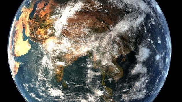 La Tierra como nunca la había visto