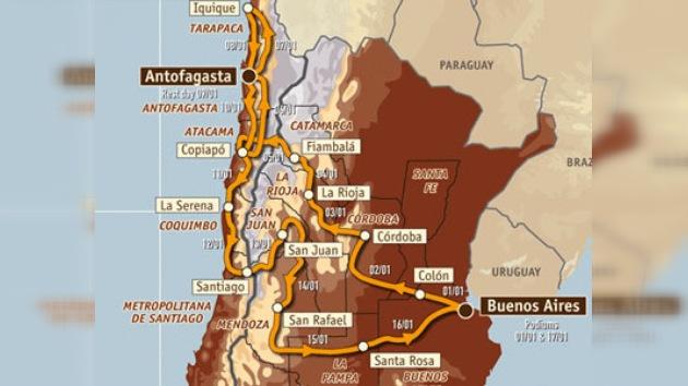Expuestos los 375 vehículos que competirán en el rally Dakar 2010