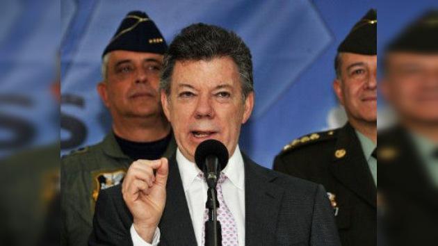 Presidente colombiano dispuesto a negociar personalmente la paz con las FARC