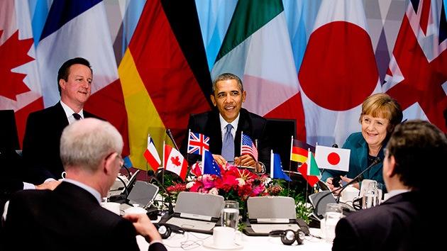 Merkel jugó a la guerra nuclear con Obama y Cameron