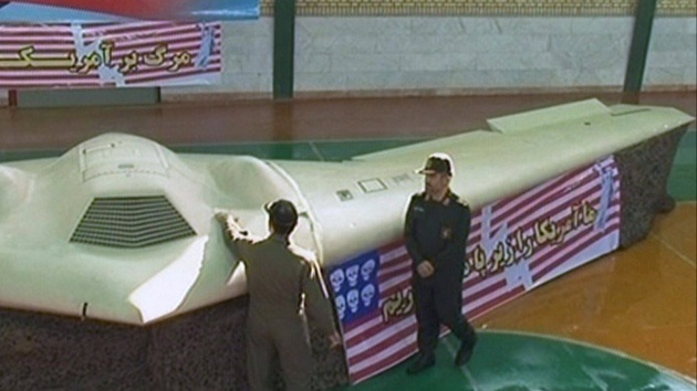 Irán muestra vídeos obtenidos por el drone estadounidense capturado en 2011