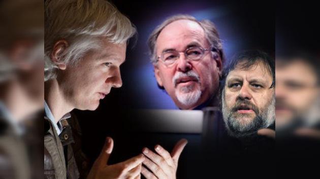 Un marxista frente a su oponente más radical, en el programa de Assange en RT