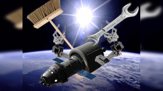 Rusia diseña la nave más 'manitas', capaz de arreglar satélites y barrer chatarra espacial