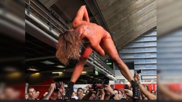 Codo a codo en México con las estrellas del porno en Expo Sexo