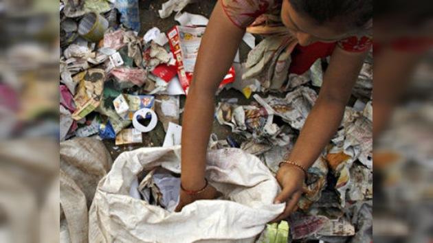 Cómo la India se convierte en basurero de electrónica