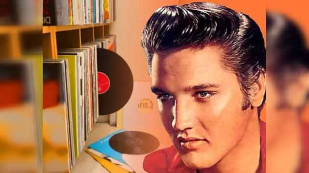 Subastan los discos del Rey del Rock