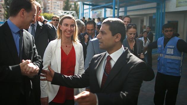 La representante de la UE para asuntos exteriores pide la creación del Estado de Palestina