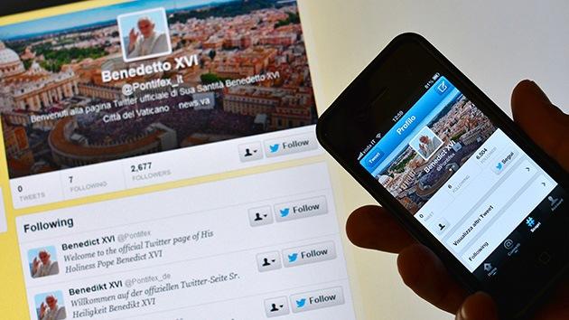 El Papa ya suma medio millón de seguidores en su Twitter 'vacío'