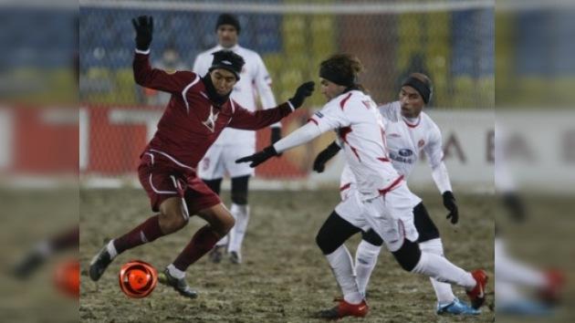 Rubín goleó a Hapoel y está a un paso de los octavos de la Liga Europea