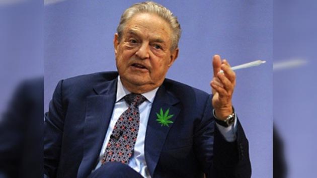 Soros aporta 1 millón de dólares para legalizar la marihuana en California