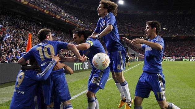 El Chelsea derrota al Benfica en el último minuto y gana la Europa League