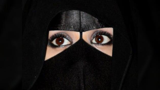 Arabia Saudita quiere ocultar los ojos femeninos bonitos
