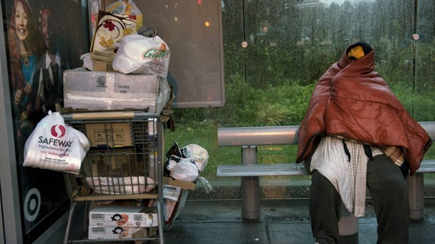 Los mendigos de Nueva York, olvidados durante la tormenta Sandy