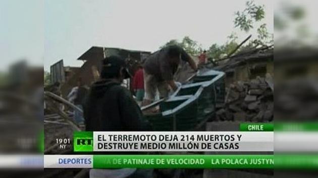 Estudian los daños causados por el devastador terremoto de Chile