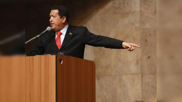 Hugo Chávez descarta la posibilidad de un golpe de estado