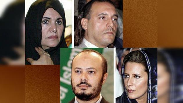 Argelia se niega a entregar a Libia a la viuda y los hijos de Gaddafi
