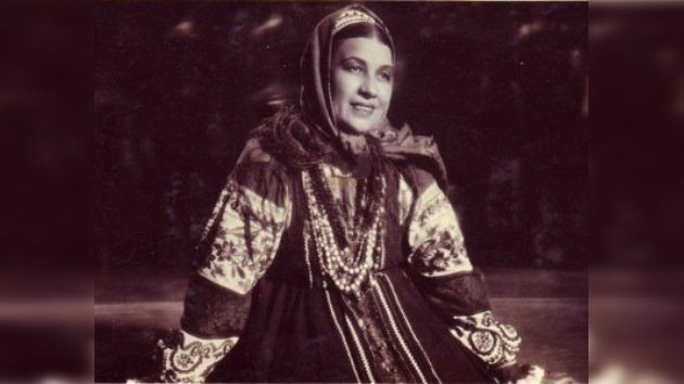 La primera cantante de 'Katiusha' cumple 110 años