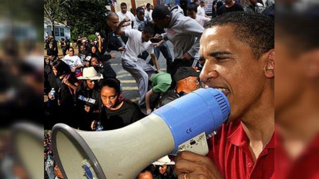 Obama: No puedo prestar ayuda sólo a los negros