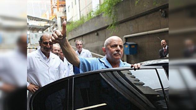 Desaparece el tumor canceroso de Lula da Silva