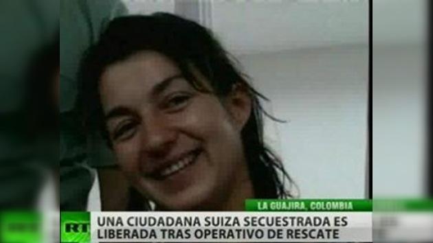 Liberan en Colombia a una ciudadana suiza secuestrada