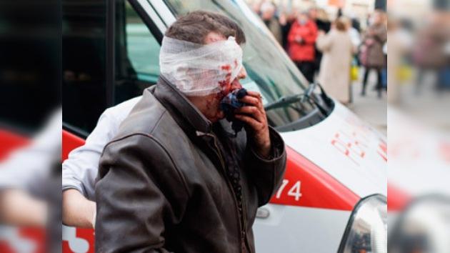Bielorrusia sufre el peor atentado de su historia