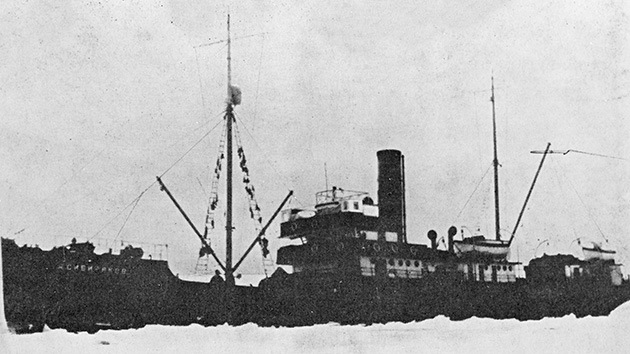 Descubren en el Ártico dos legendarios barcos soviéticos hundidos por los nazis