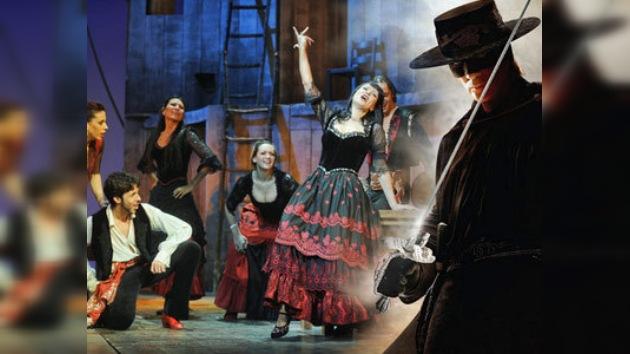 La pasión 'calé' llegará a Moscú con el estreno del musical 'ZORRO'
