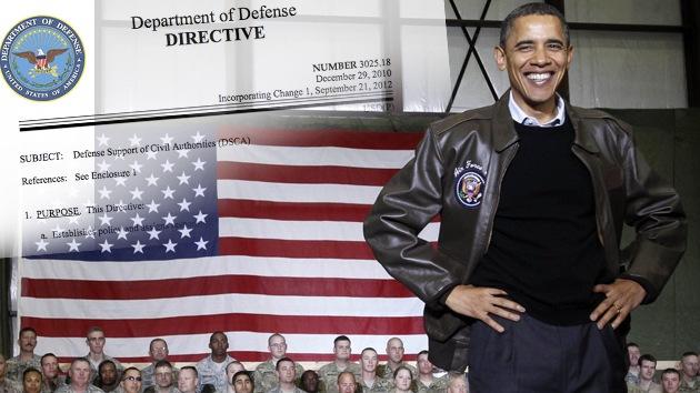 El Pentágono autorizó en 2010 el uso de la fuerza militar contra ciudadanos de EE.UU.