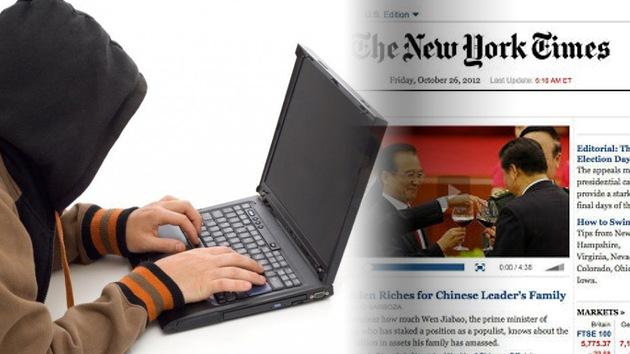 El New York Times acusa a 'hackers' chinos de atacar su sistema informático