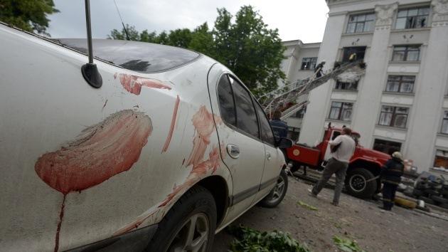 Rusia solicitará imágenes satelitales como prueba de crímenes en Ucrania