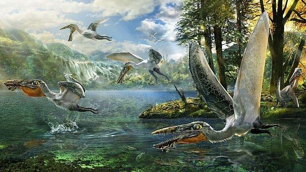 Hallan un animal prehistórico parecido a los reptiles voladores de 'Avatar'