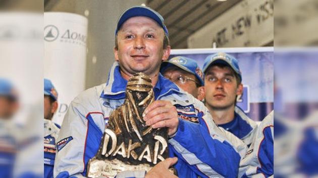 Chaguin anunció el fin de su carrera en el Rally de Dakar