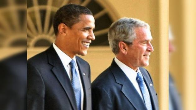 Obama acusa a Bush de gastar injustificadamente el presupuesto