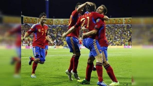 España iguala el récord mundial de victorias consecutivas de una selección
