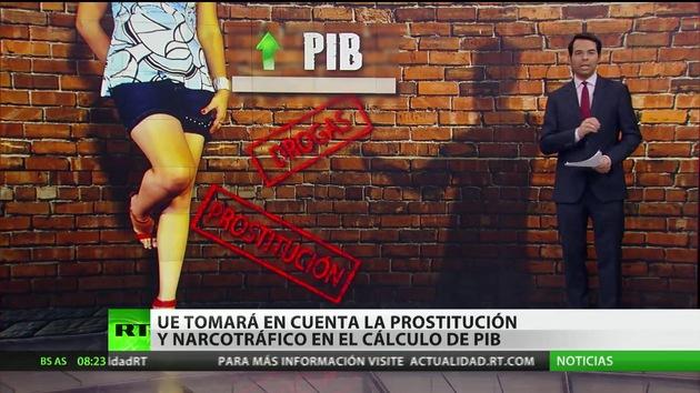La UE contabilizará en el PIB las ganancias de la prostitución y el tráfico de drogas