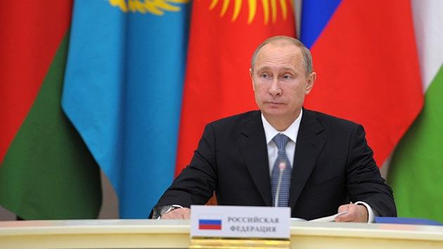 """Putin: El """"desbordamiento del terrorismo"""" desde Siria a otros estados es """"real"""""""