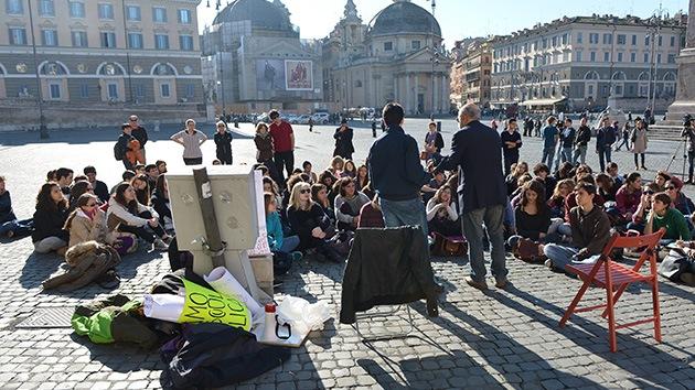 Los alcaldes italianos se mueven contra los recortes del Gobierno