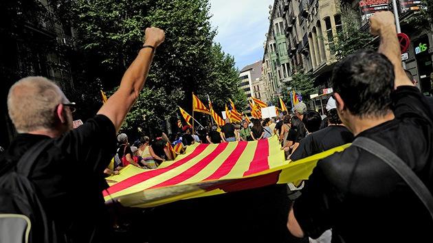 Cataluña: los partidos separatistas acuerdan un referendo de autodeterminación para 2014