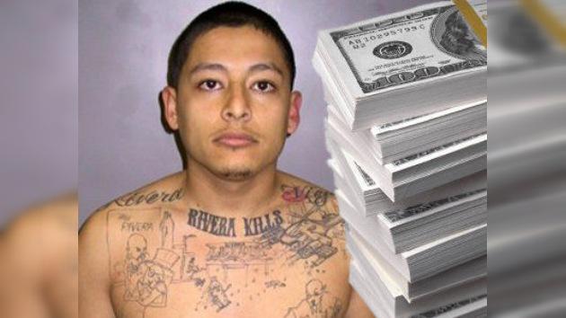 Un asesino preso en EE.UU. recibió miles de dólares en subsidios de desempleo