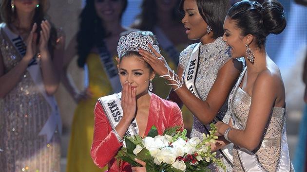 La estadounidense Olivia Culpo se alza con la corona de Miss Universo