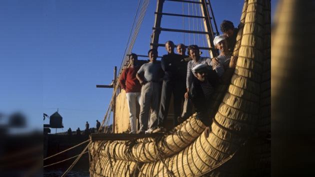 La expedición trasatlántica de Thor Heyerdahl cumple 40 años